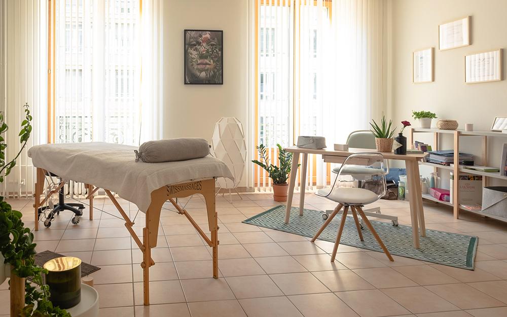 Maryline Corthay - Massages thérapeutiques & Réflexologie - Lausanne